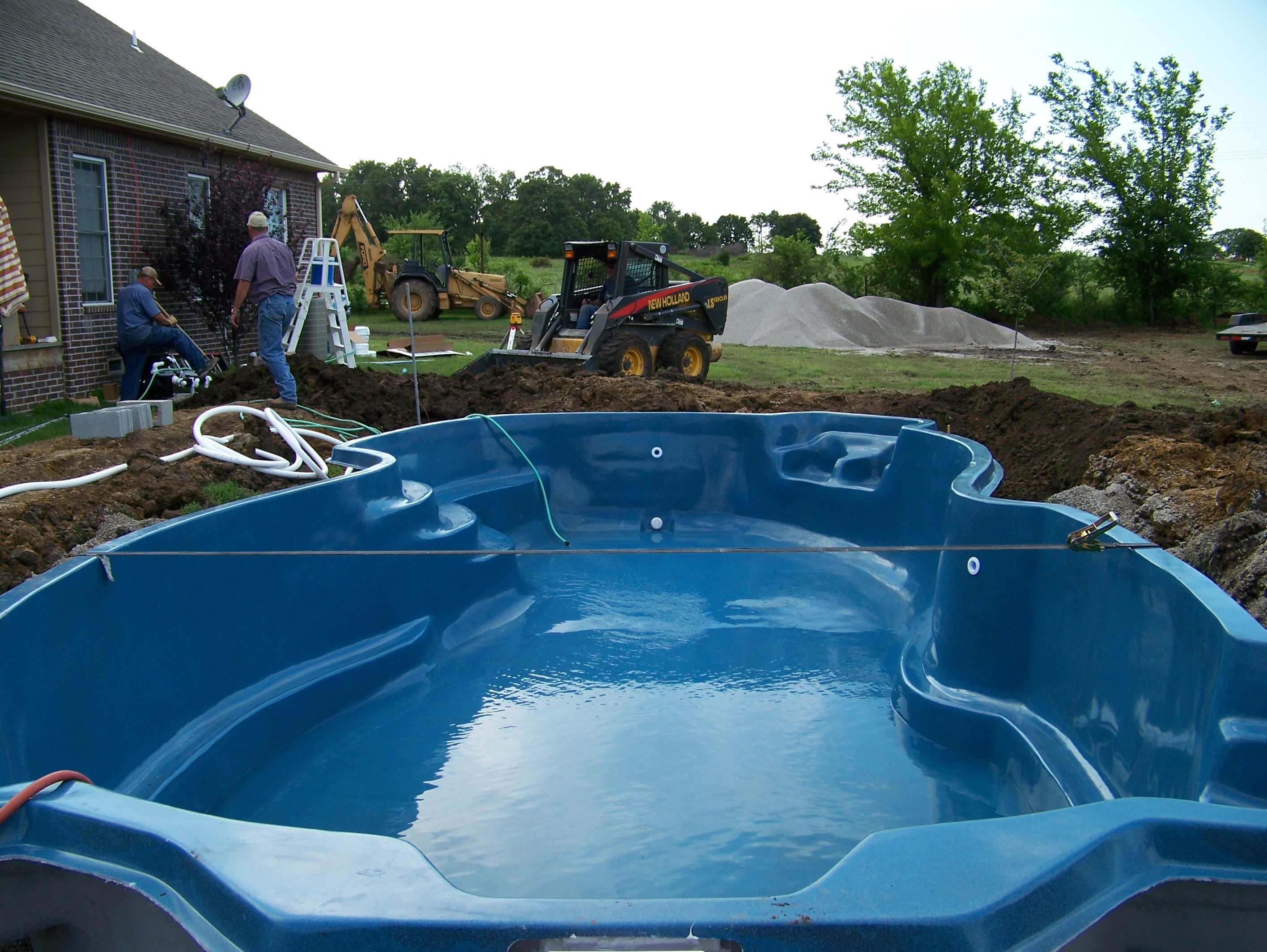 Fiberglass pools tulsa ok swimming pool contractor and - Swimming pool contractors oklahoma city ...