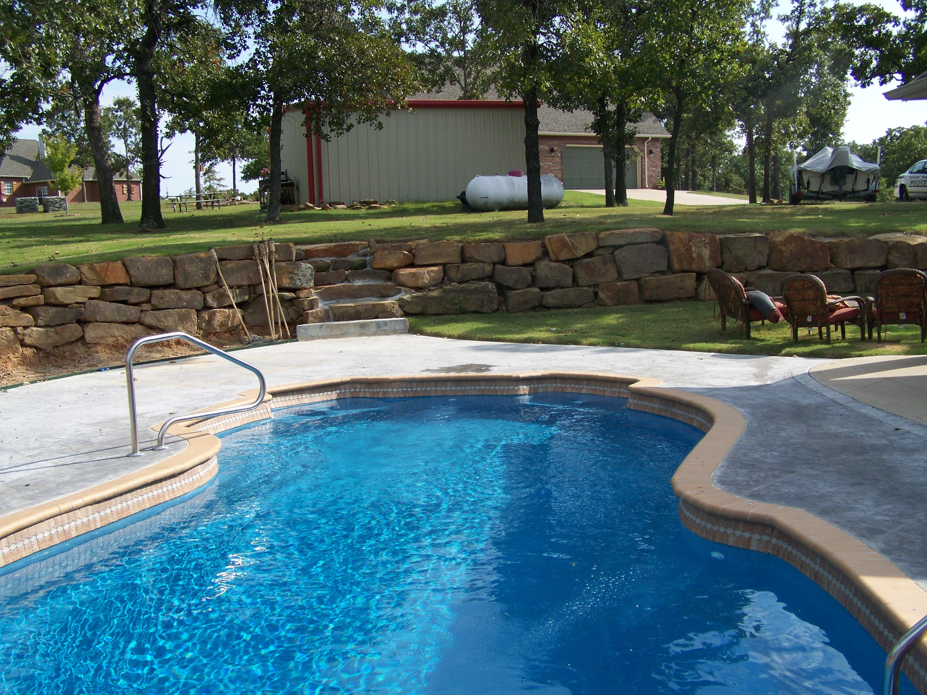 Gallery Of Oasis Pools Tulsa Fiberglass Pools Swimming Pool Contractor