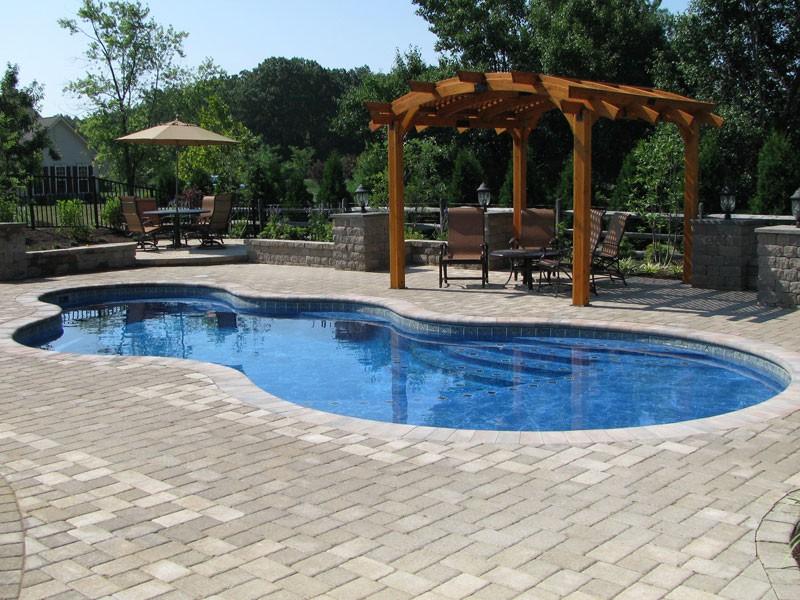 Axiom Trilogy fiberglass pool Tulsa OK