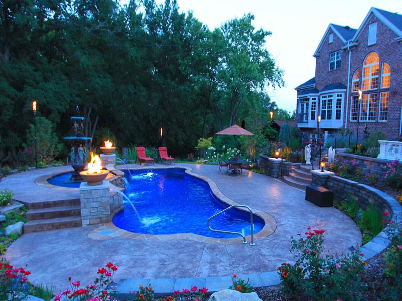 Synergy Trilogy swimming pool design Tulsa OK