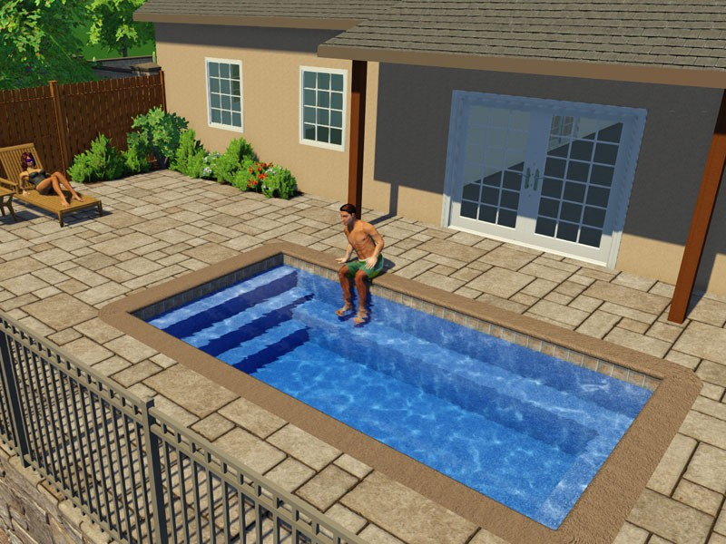 Fiberglass Pools Designs And Shapes Swimming Pool Contractor Tulsa Ok