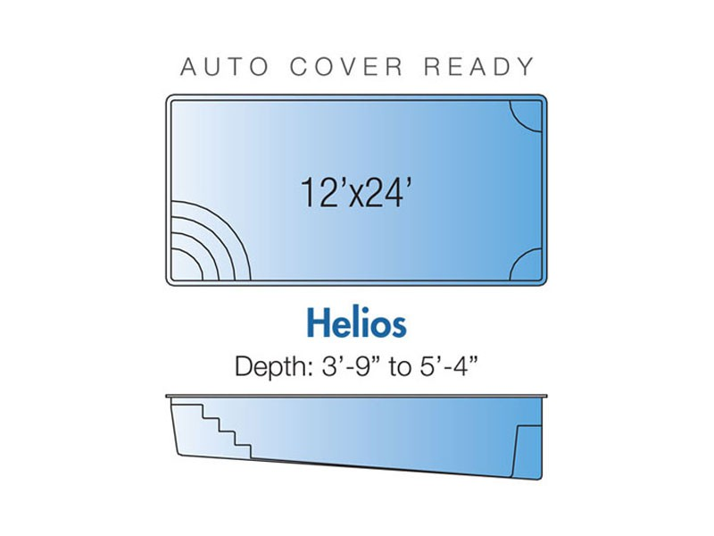 Helios Trilogy pool design