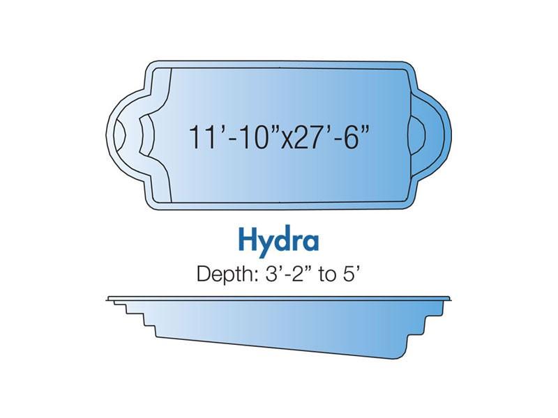 Hydra Trilogy pool design