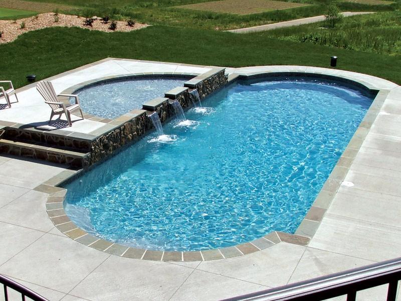Hyperion Trilogy pool designs Tulsa OK