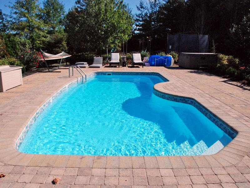 Velocity Trilogy swimming pool design Tulsa OK