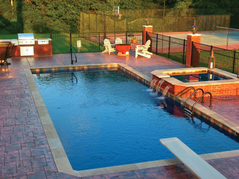 Atlas Trilogy swimming pools Tulsa OK