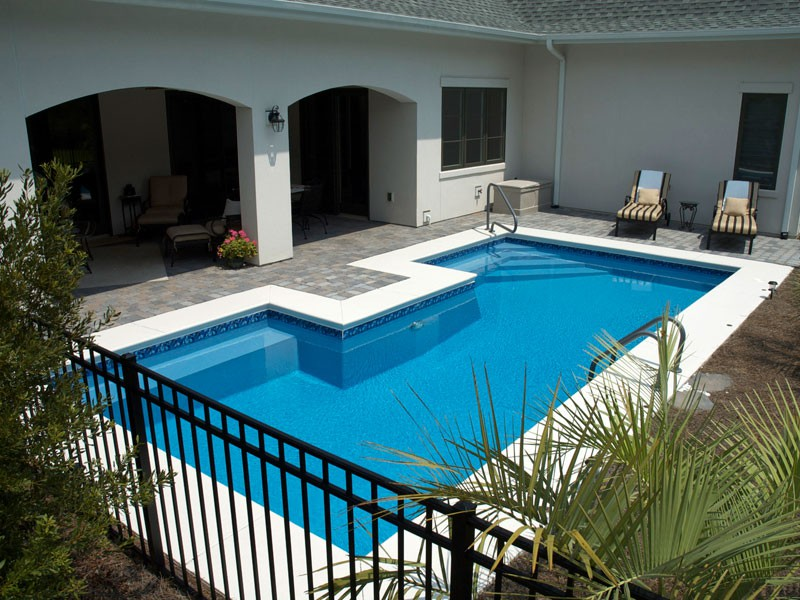 Europa Trilogy swimming pools Tulsa OK