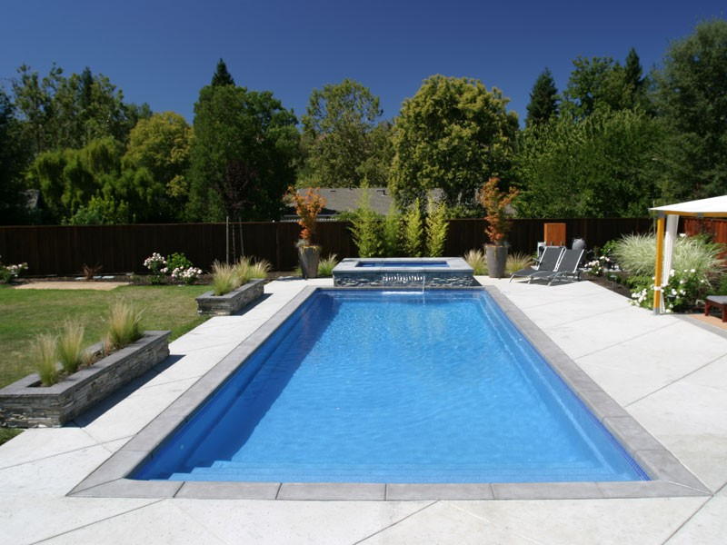 Fiberglass Pools Designs And Shapes Swimming Pool