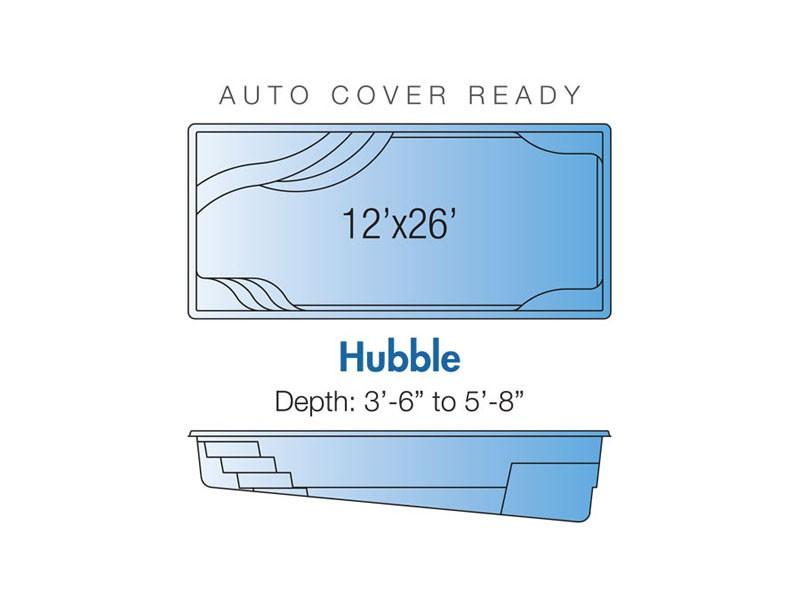 Hubble Trilogy pool design