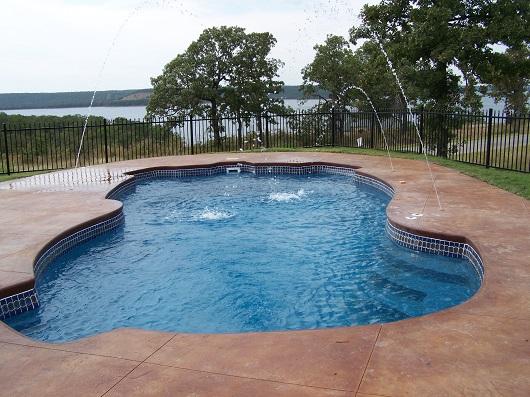 Custom Inground Fiberglass Pools Swimming Pool