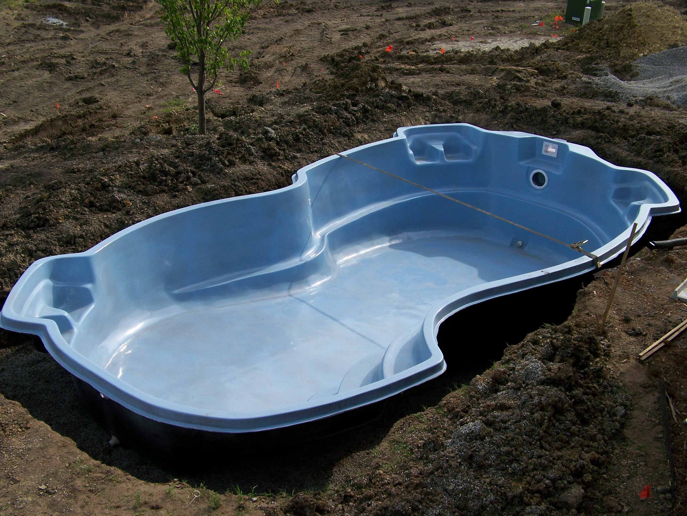 Fiberglass pools list of shapes swimming pool contractor tulsa ok Fiberglass swimming pool installation