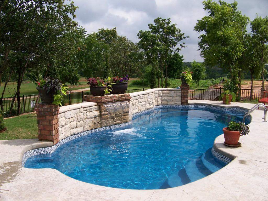 Custom Inground Fiberglass Pool Swimming Pool Contractor